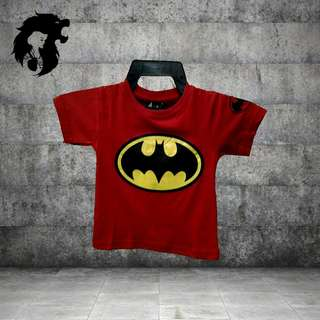 BATMAN RED Kid T-Shirt TRSC-A006
