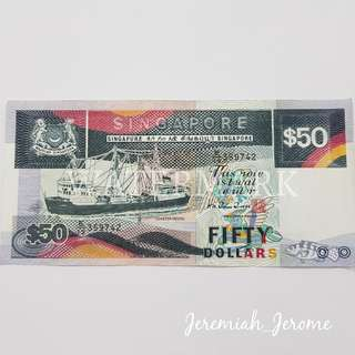 SGD $50 note