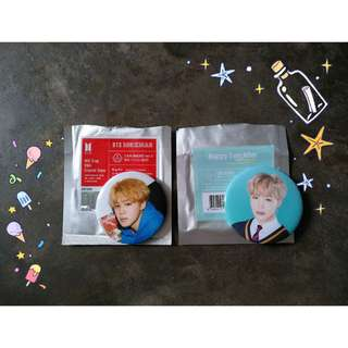 BTS JIMIN OFFICIAL CAN BADGE COMBO SET