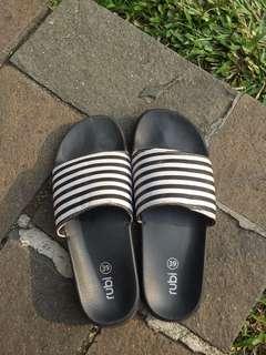 Rubi stripes slipper