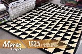 Carpet monochrom maroc