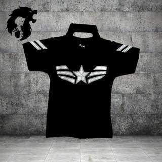 CAPTAIN AMERICA WING LOGO TRSC-A027