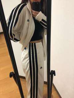 Adidas matching vintage jacket