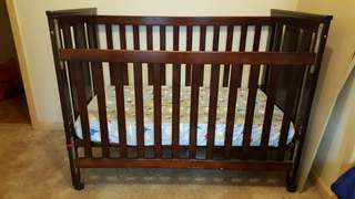 Childcare cot with mattress