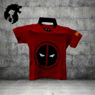 DEADPOOL RED ROUND LOGO TRSC-A028