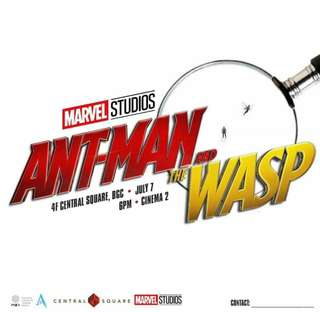 Ant-man and the Wasp Block Screening