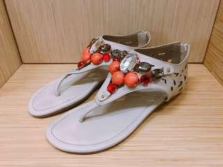 🚚 波希米亞風串珠涼鞋
