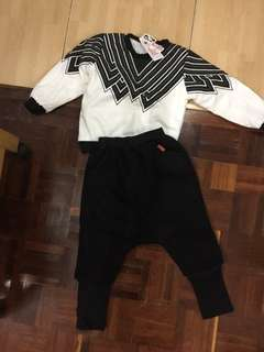 Kid sweater set