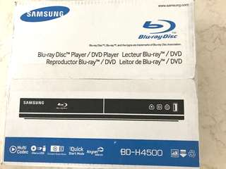 Samsung DVD BlueRay