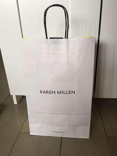 Paper bag Karen Millen
