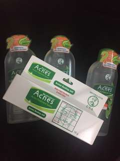 (free ongkir) TAKE ALL ACNES OIL CONTROL TONER + SEALING JELL