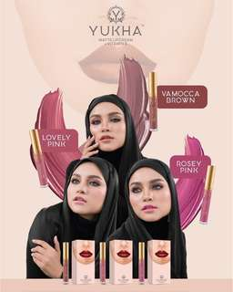 Yukha Matte lipcream with vitamin E