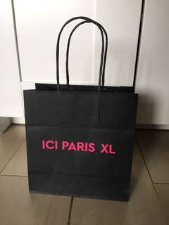 Paper bag Ici Paris XL
