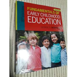Fundamentals of Early Childhood Education by George Morrison (8th Edition) Paperback Colored
