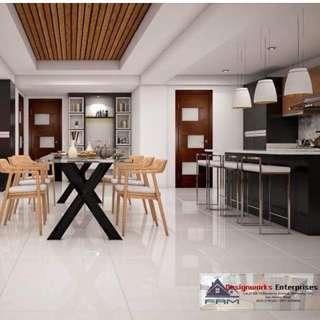 DESIGNWORKS - uPVC Windows and Doors, Granite Countertops, Modular Cabinet, All Glass Works