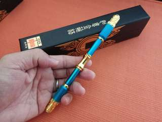 Extensible Solid Metal Monkey God Ultimatum Jin Gu Pang Blue Colour