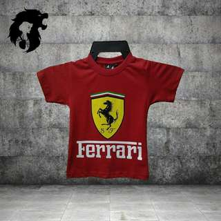 FERRARI RED Kid T-Shirt TRSC-A012R