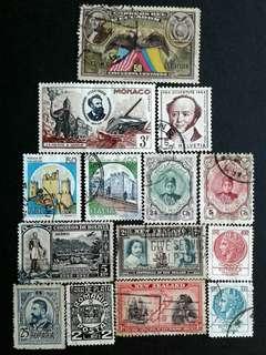 World vintage stamps#6