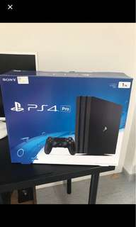PS4 1TB PS4 PRO!