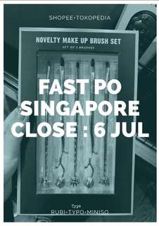 FAST PO SINGAPORE 6 JUL'18