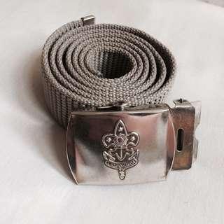 Boy Scout Garrison Belt