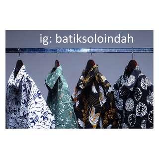 Jual Kemeja Batik Lengan Pendek Bahan Primisima di Jaksel