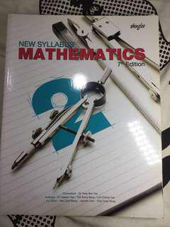 O Level Shinglee Mathematics Textbook 2