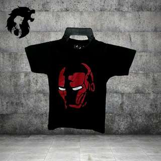 IRONMAN BLACK Kid T-Shirt TRSC-A007
