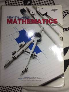 O Level Shinglee Mathematics Textbook 1