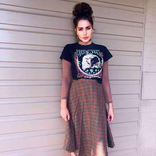 Grunge Vintage Skirt