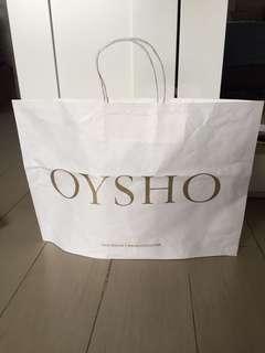 Paper bag Oysho