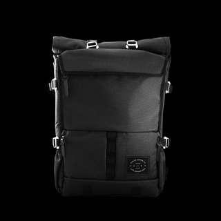 LBB - The Peloton Asphalt rolltop backpack(單車背囊)