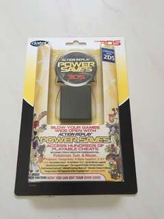 Power Saves Action Replay 3DS