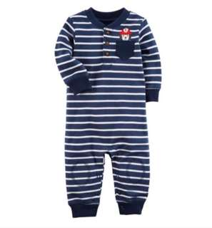 🚚 *24M* Brand New Carter's Fire Dog Jumpsuit For Baby Boy