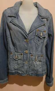 True Religion Denim Blazer