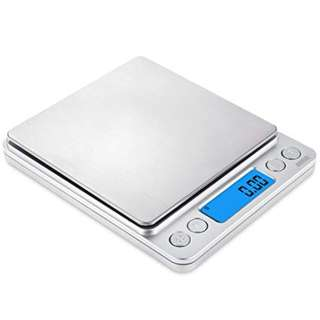 1086. AMIR Digital Kitchen Scale, 500g/0.01g Mini Pocket Jewelry Scale, Cooking Food Scale