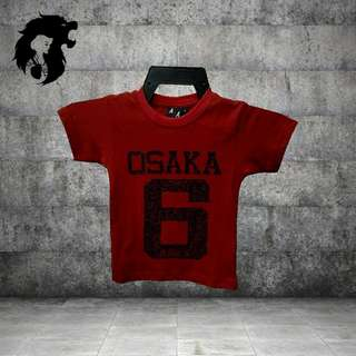 OSAKA 6 RED Kid T-Shirt TRSC-A015