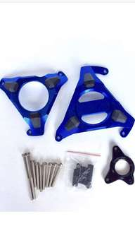 ENGINE GUARD MSLAZ MT15 XABRE YZF150 BLUE GUARDS