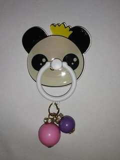 🚚 熊貓 指環扣