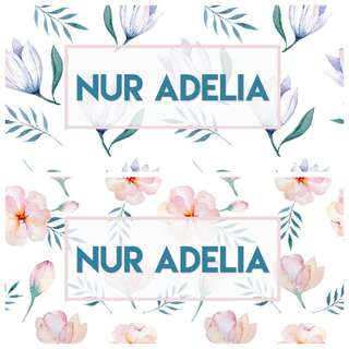 Waterproof Name Stickers - Floral 50 pcs