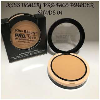 💄 Kiss Beauty PROFESSIONAL Face HD High Definition Matte Pressed Powder