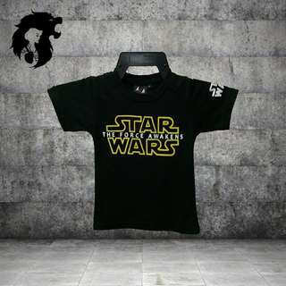 STARWARS THE FORCE AWAKEN Kid T-Shirt TRSC-A010