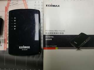 Wirless 3G Portable Router with Battery