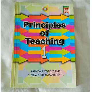 Principles of Teaching 1