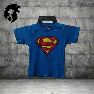 SUPERMAN BLUE Kid T-Shirt TRSC-A004