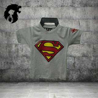 SUPERMAN GREY Kid T-Shirt TRSC-A003