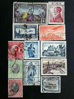 World vintage stamps#9