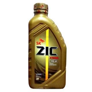 SK-ZIC X9000 15W40  1 Liter