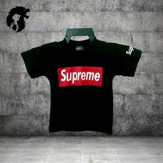 SUPREME BLACK Kid's T-Shirt TRSC-A030