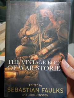 The Vintage Book of War Stories ed. Sebastian Faulks
